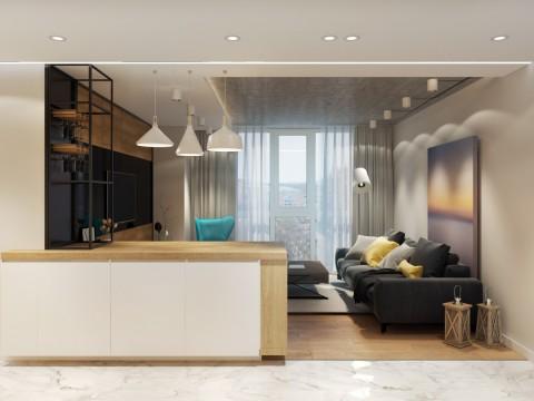 An apartment at Lukyanovskaya street